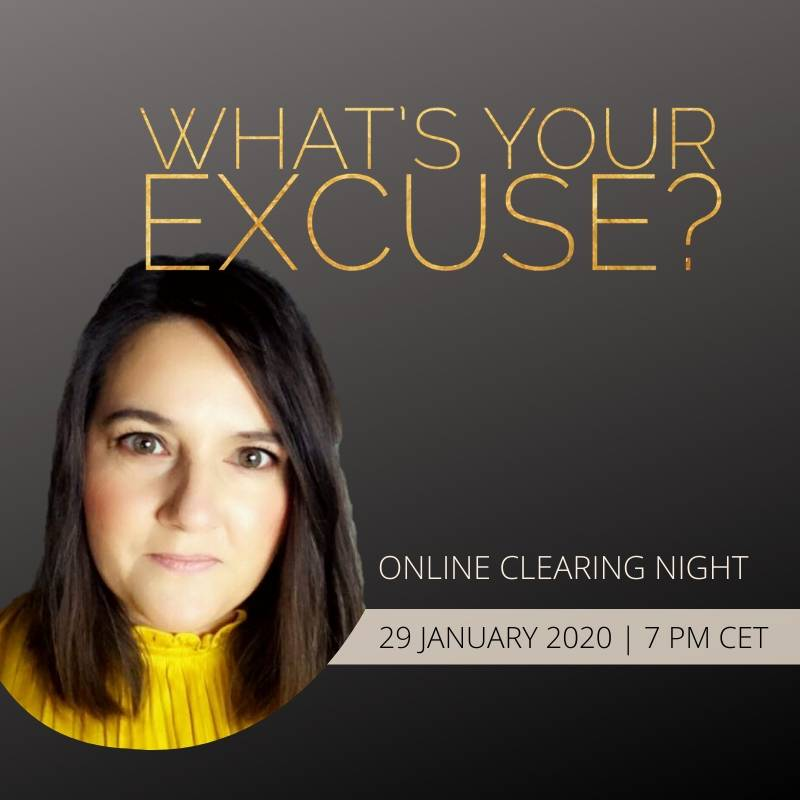 What's your excuse Online Clearing Night